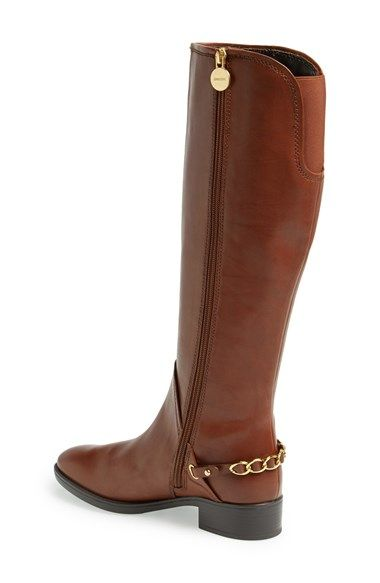 Geox 'Felicity 5' Leather Riding Boot (Women | Boots, Riding