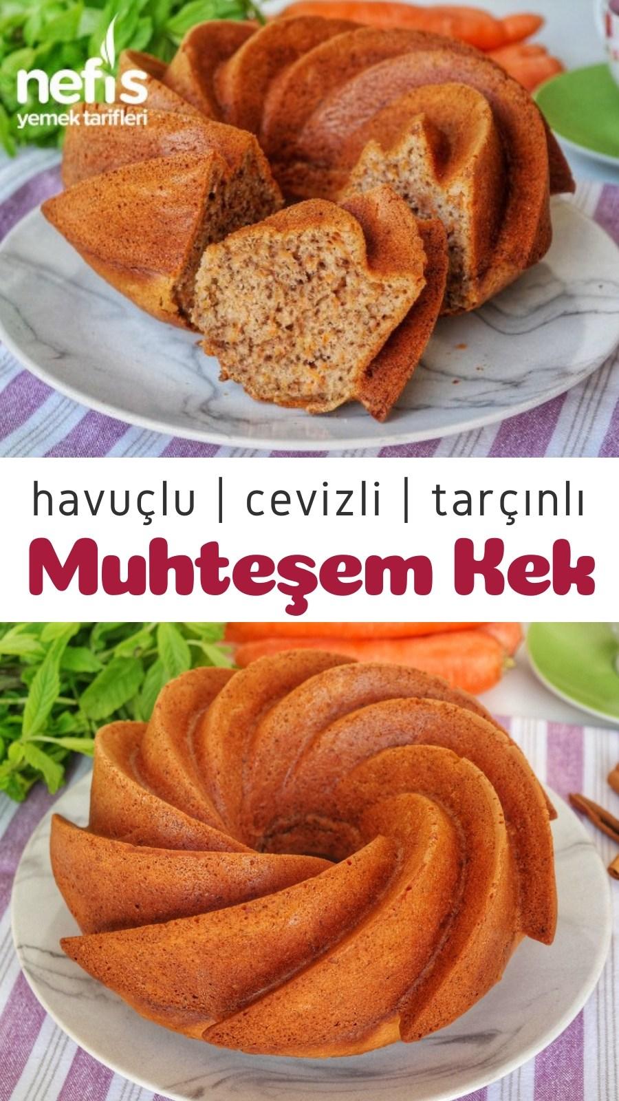 Photo of Havuçlu Cevizli Tarçınlı Kek Tarifi (videolu) – Nefis Yemek Tarifleri