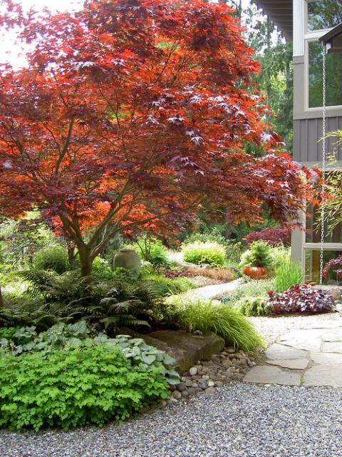 22 Of The Best Fall Landscape Ideas 17 Is Perfect Landscape Design Traditional Landscape Modern Landscaping
