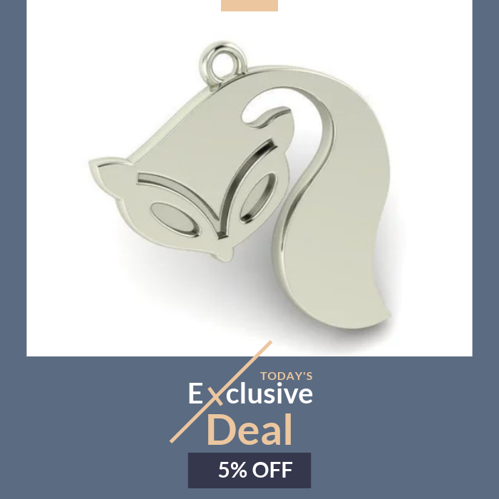 Deal of the Day Get 5 OFF Sale Bandit Raccoon Pendant