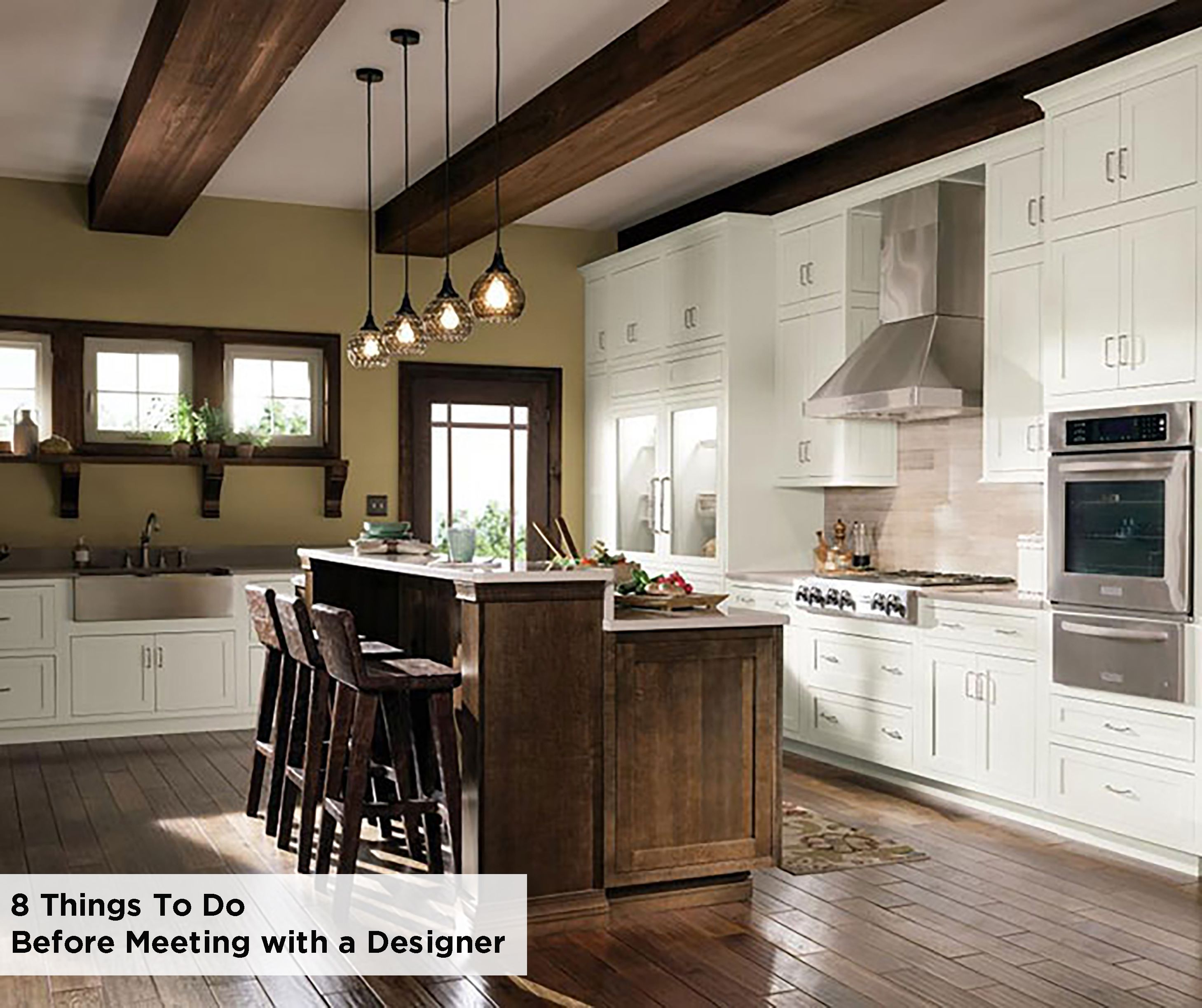 Here Are 8 Things To Do Before Meeting With A Decora Cabinets Designer Be Proactive About Your Process T Rustic Kitchen Kitchen Cabinet Styles Decora Cabinets