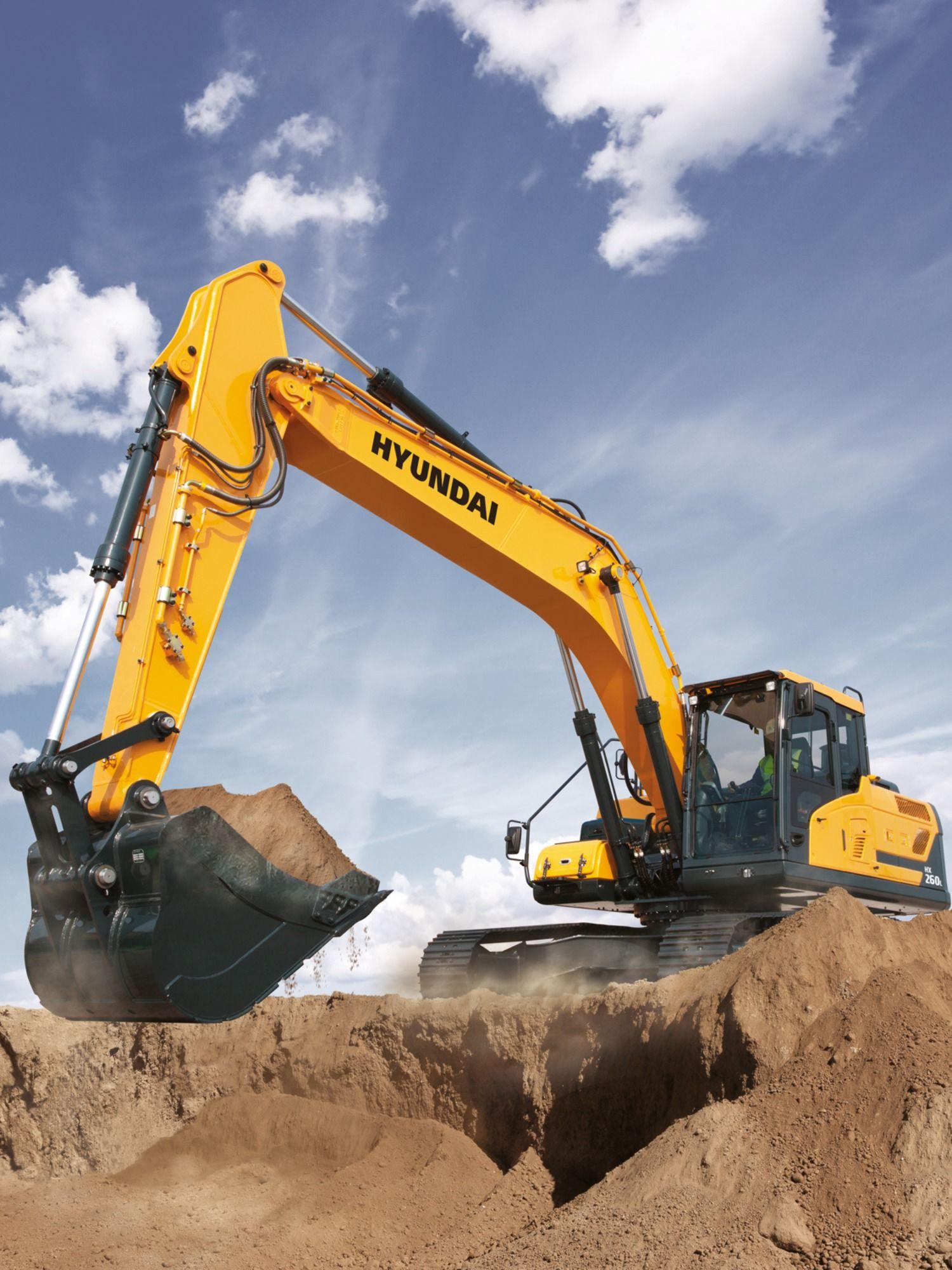 Hyundai Hx260l Crawler Excavator Heavy Construction Equipment Hyundai Construction