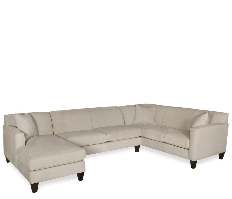 Living Room Furniture Boston dayton 3-pc sectional - this item may be custom ordered in over