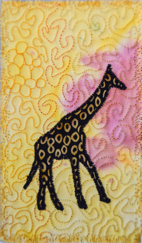 Fiber Art, Wall Hanging, Art Quilt, fiber art, Miniature, home decor ...