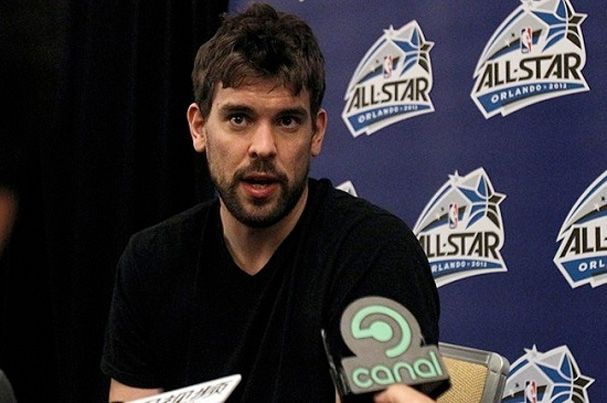 Grizzlies center Marc Gasol has won his first NBA Defensive Player of the Year award after anchoring the league's stingiest defense.  Gasol received 212 points and 30 first-place votes to edge Miami's LeBron James, who had 149 points and 18 first-place votes.