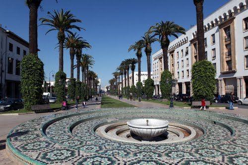 Quartier Des Orangers, Rabat, Morocco