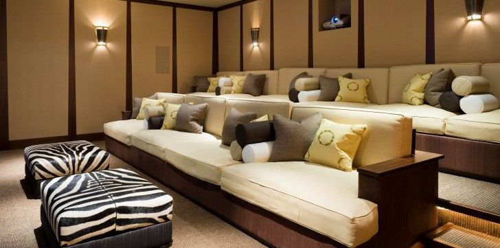 Lovely Bespoke Furniture For A Unified Family Home, Including Private Cinema,  Dressing Room, Bathroom And Wine Store
