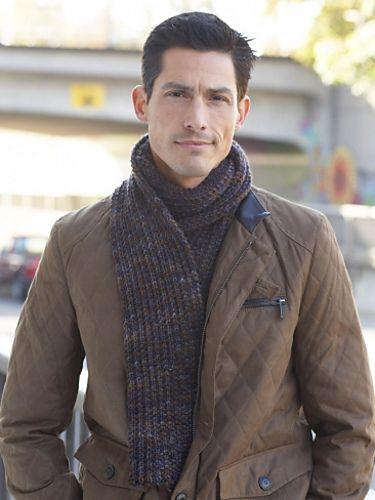 Ravelry: Men's Interchangeable Scarves pattern by Lorna ...