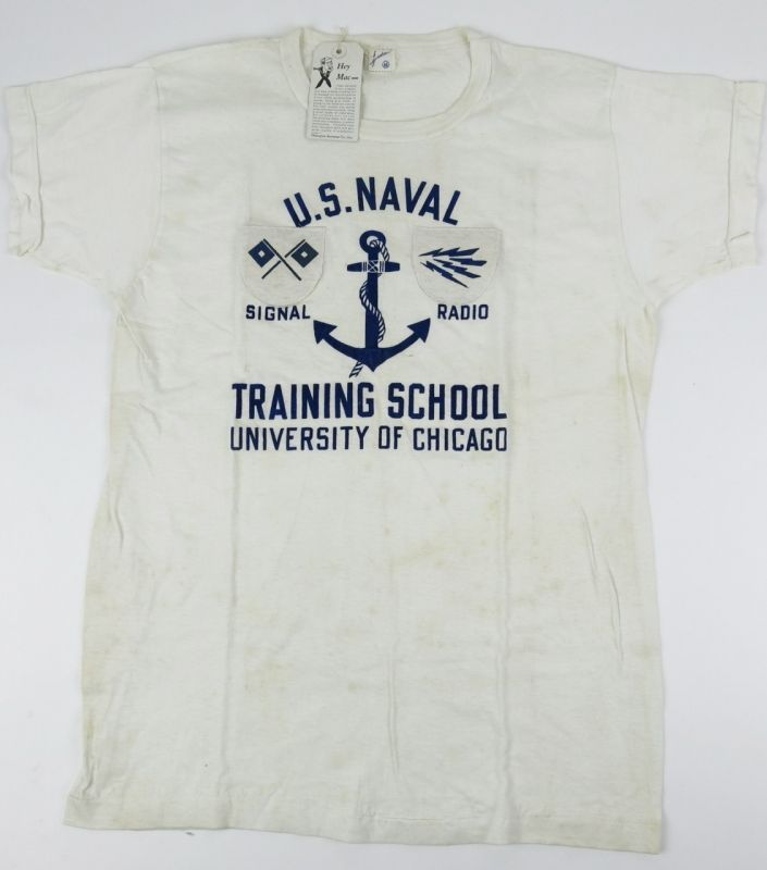 40's U.S.NAVAL TEE by Champion Knitwear Co