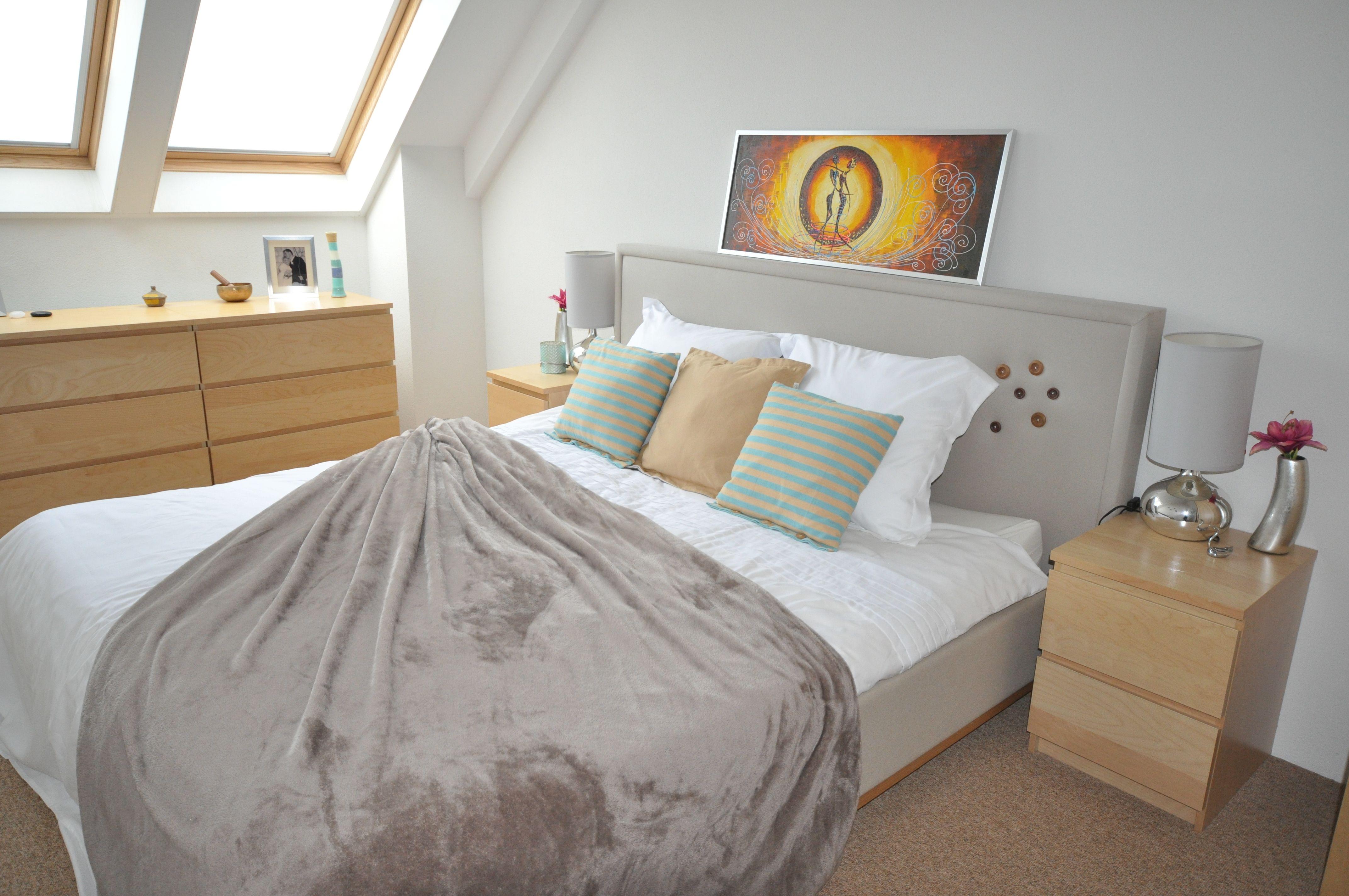 Bedrooms AInterior Designs cozy, zen bedroom