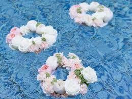 Resultado de imagem para decorar piscina para festa