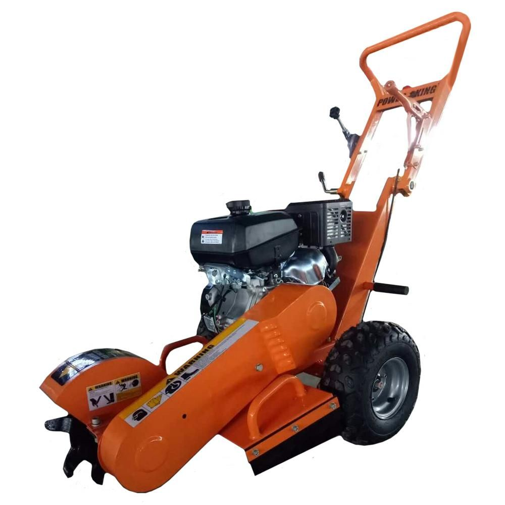 how to use a stump grinder machine