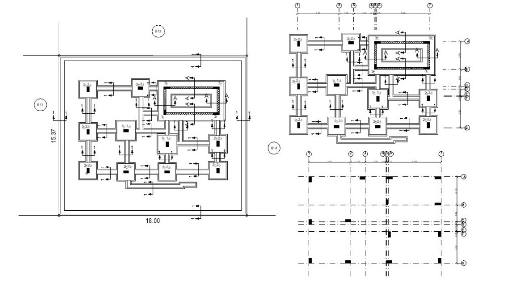 Free House Construction Working Plan Dwg File Home Construction How To Plan House Columns