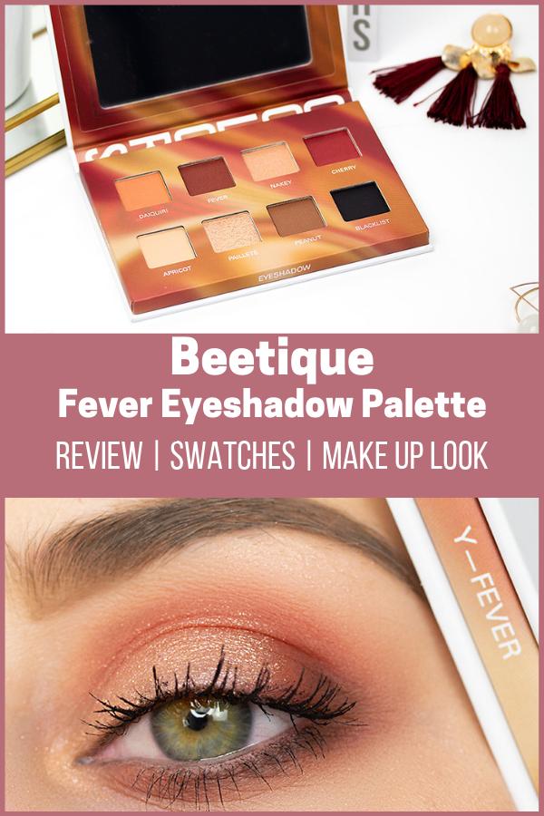 Beetique Fever Eyeshadow Palette Sabrinas Beauty Paradise