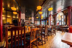 Draft house camden designed by relic interiors london pub design industrial interior also pinterest rh