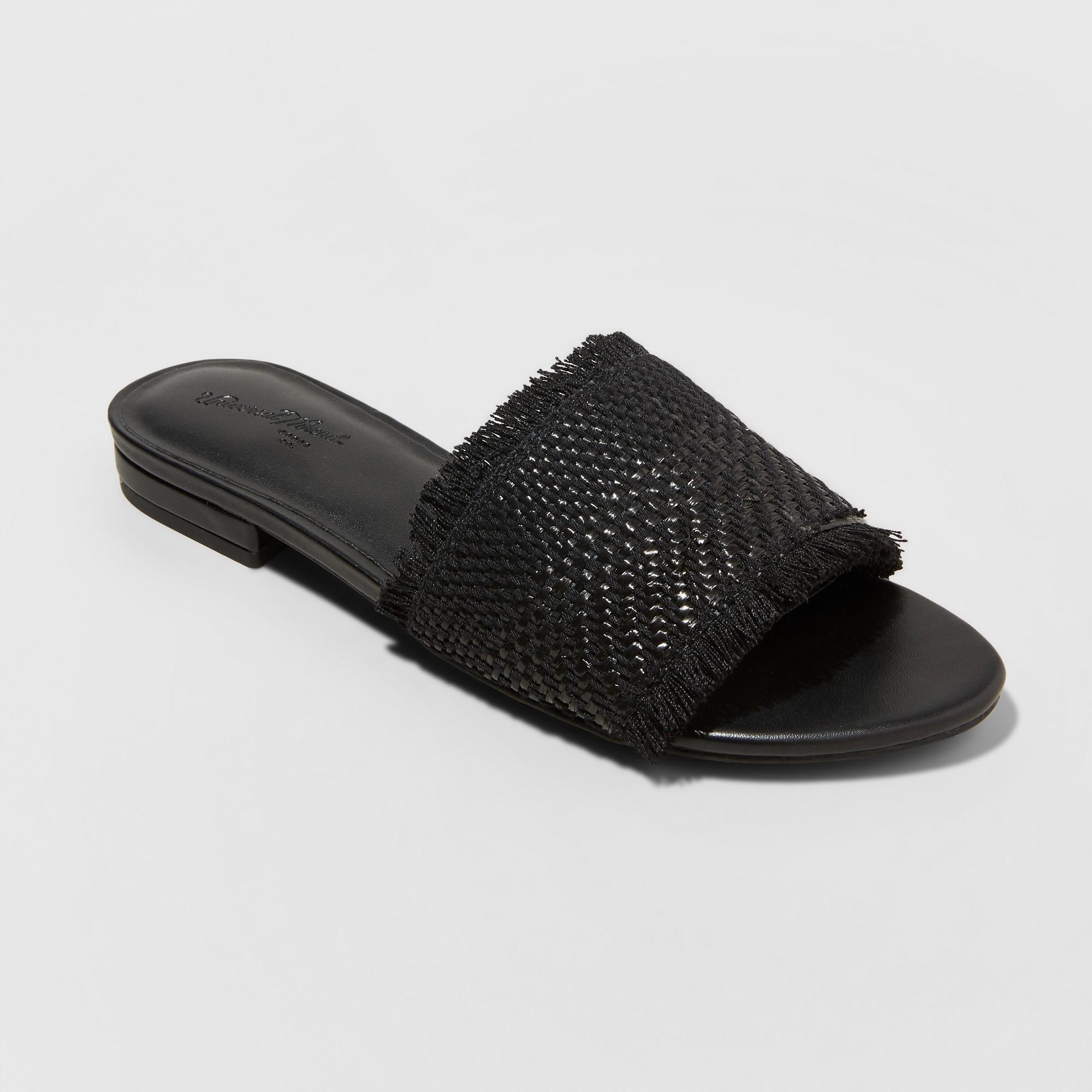 de8ab5374221 Women s Yvette Slide Sandal - Universal Thread Black 9.5