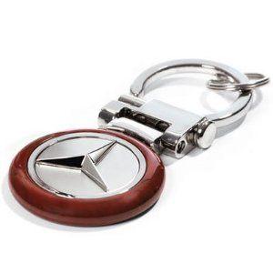Key Chain Mercedes Key Fob Burl