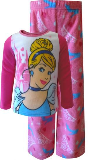 41cd8ff9c Disney Princess Cinderella Fleece Pajama Set