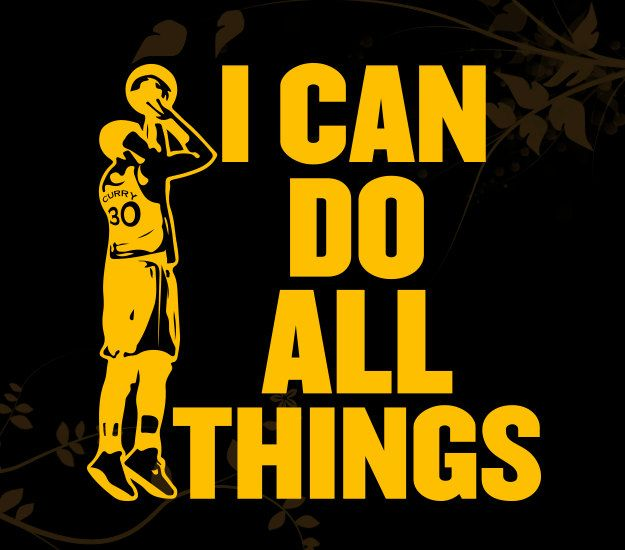 Stephen Curry I Can Do All Things Decal For Your Car Walls Laptops
