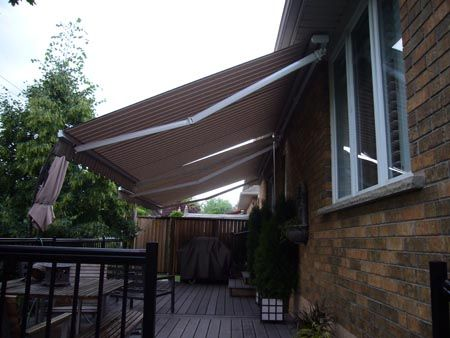 HOME | Aluminum awnings, Outdoor fabric, Retractable awning
