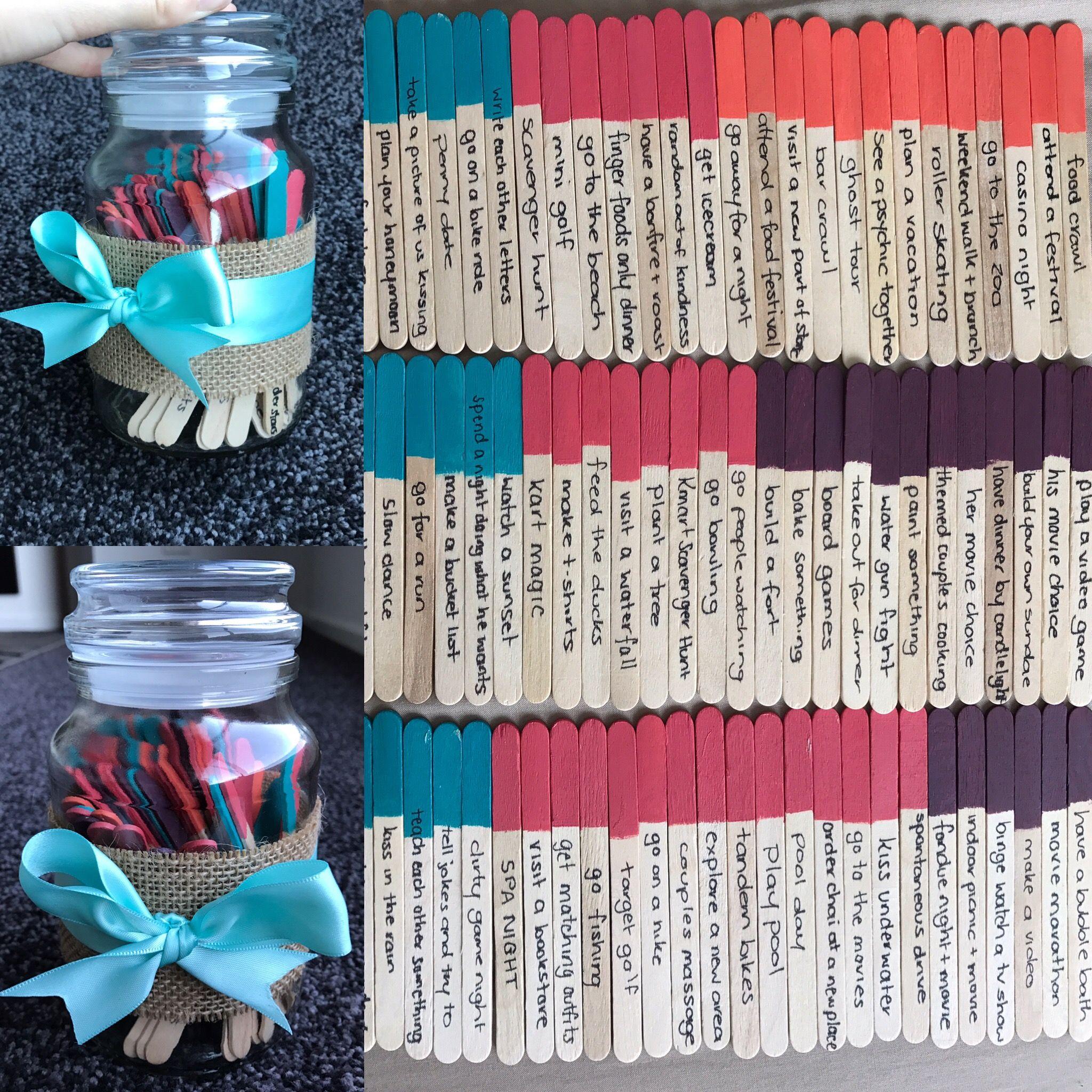 Date Night Jar Ideas Diy Diy Valentine Gifts For Boyfriend Diy Valentines Gifts Diy Valentine S Day Gifts For Boyfriend