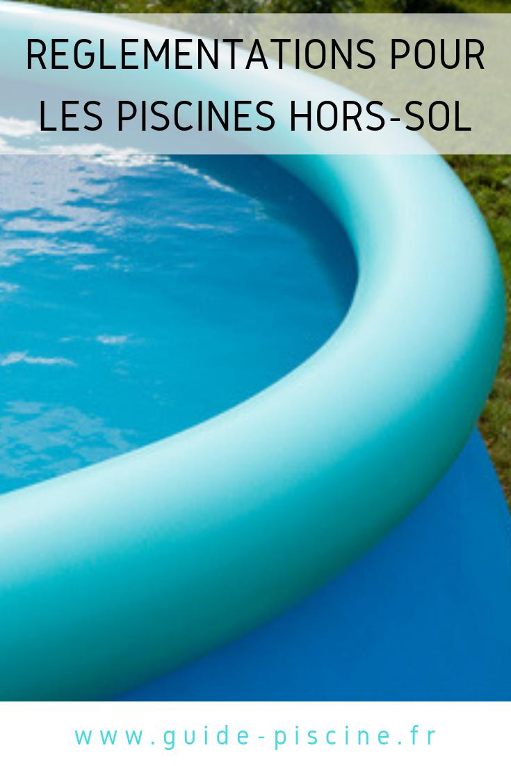 Règlementation piscine hors-sol, permis de construire, travaux