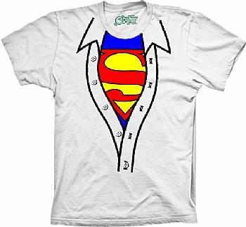 7ce5907585 Camiseta Superman - Camisa Aberta - Mostre o super herói que existe  escondido em você! Revele-se!