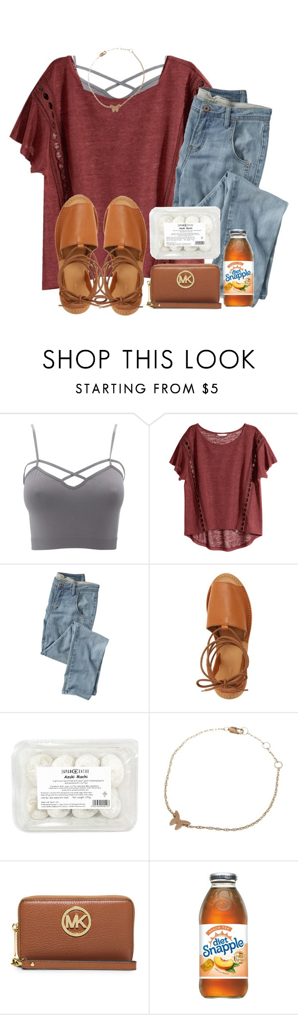 """""""tea or coffee? comment"""" by madiweeksss ❤ liked on Polyvore featuring Charlotte Russe, H&M, Wrap, Topshop, Jennifer Zeuner, MICHAEL Michael Kors and plus size clothing"""