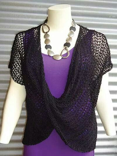 Beautiful and apparently easy mobius shawl | Crochet | Pinterest