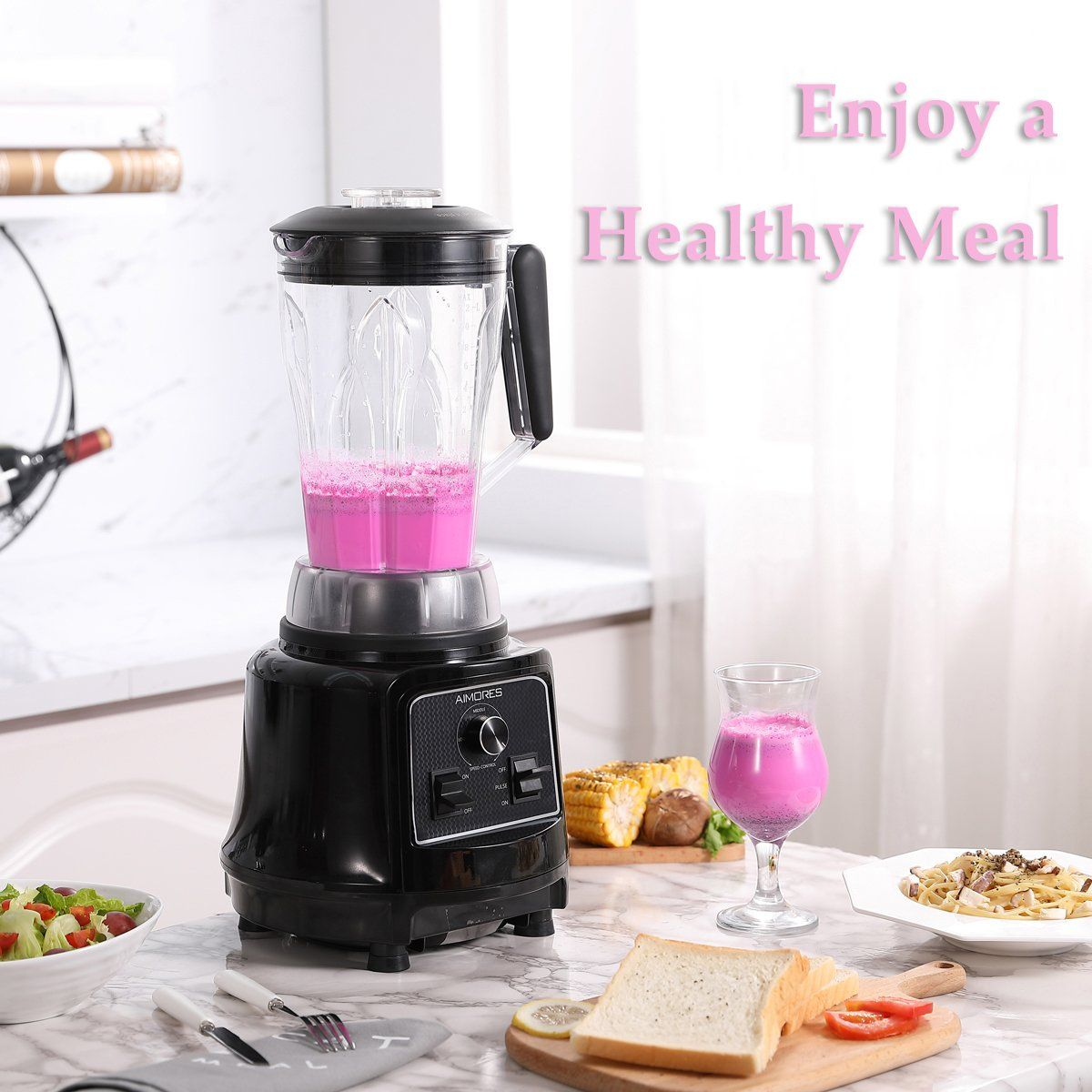 Aimores commercial blender for shakes and smoothies food