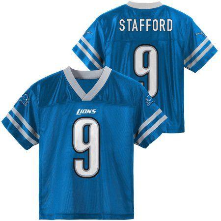 NFL Detroit Lions Youth Matthew Stafford Jersey, Boy's, Size: XS, Blue