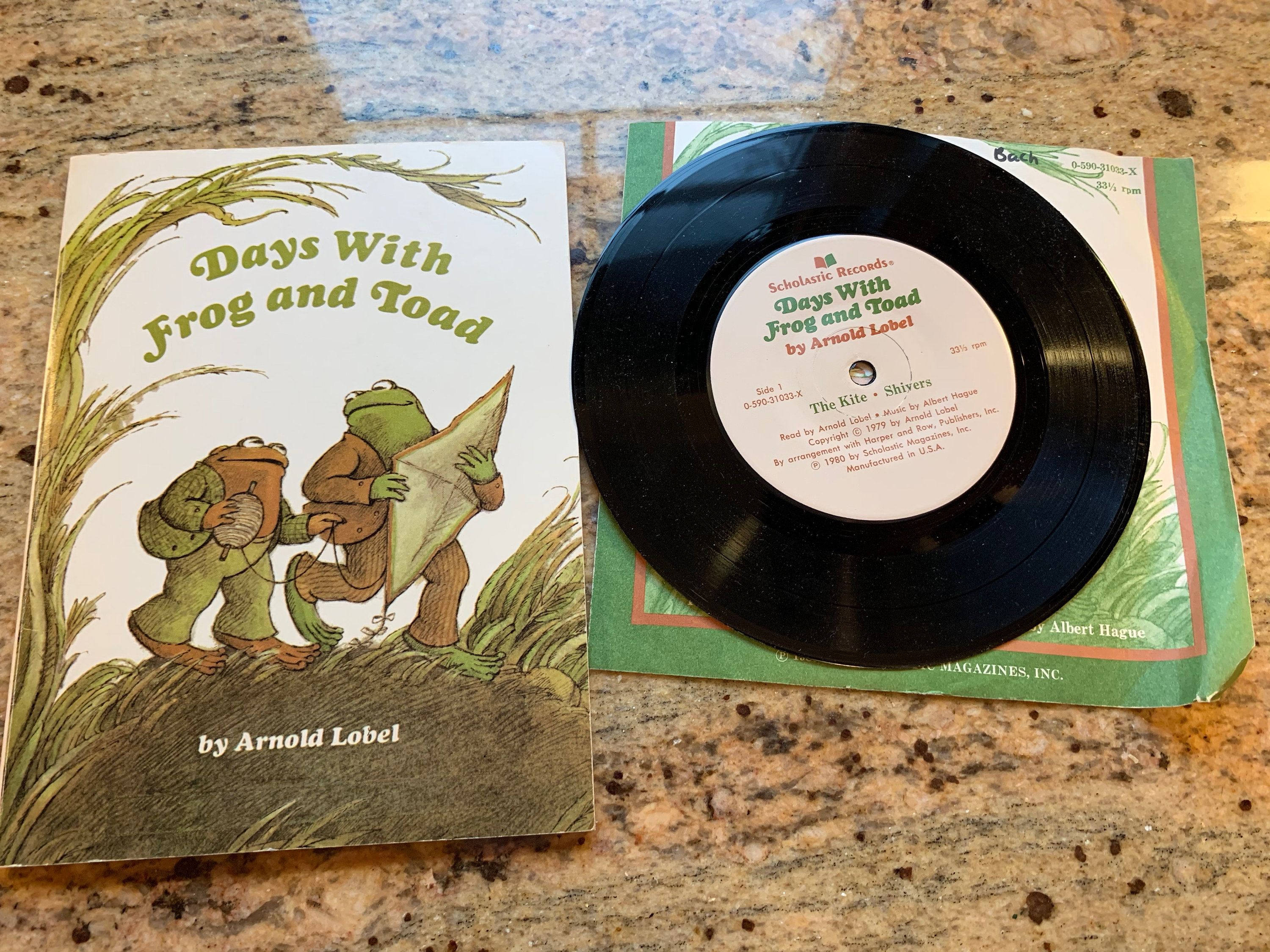 Days With Frog And Toad Book And Record