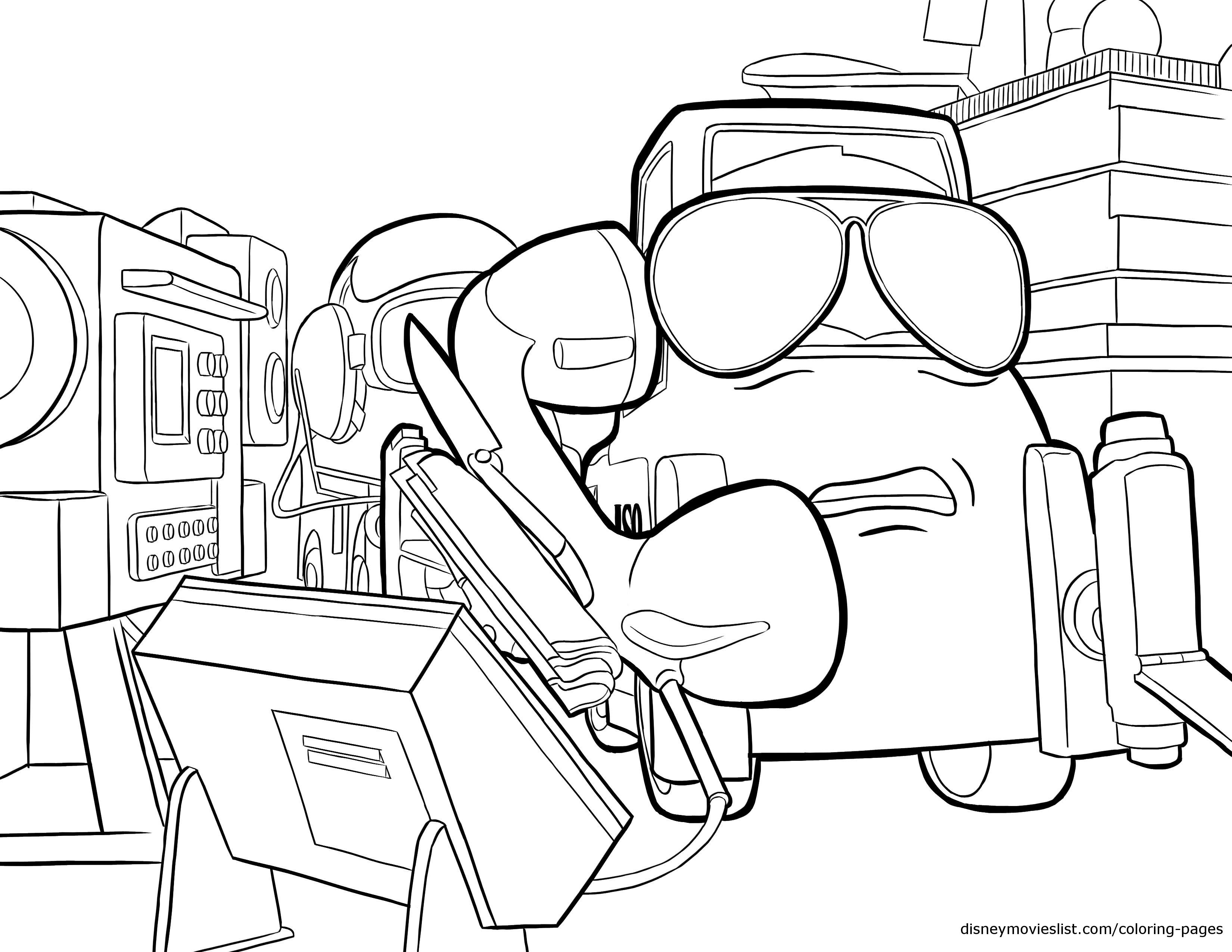 Ripsliner Fights Dusty Crophopper Coloring Page, Planes | coloring ...