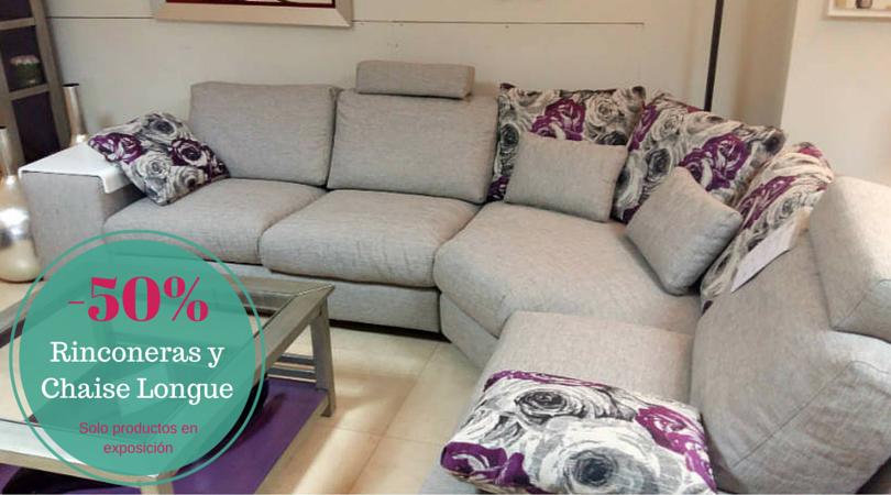 Ofertas en sof s rinconeras y chaiselongue decoracion for Ofertas chaise longue online