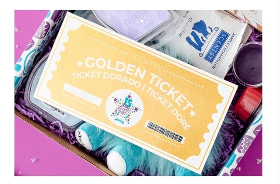 Golden ticket scentsy Scentsy, Subscription boxes for
