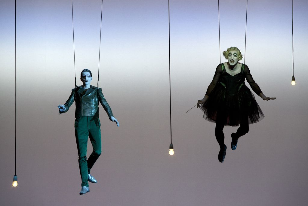 Peter Pan, by Robert Wilson
