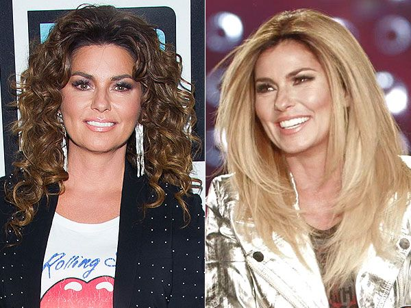 Celeb Hair Changes Alert Shania Twain Is Blonde Khloe Kardashian