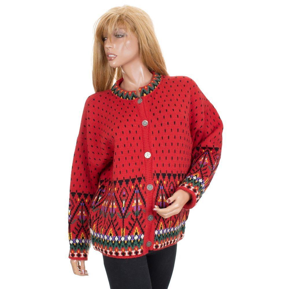Dale Of Norway Womenssweater Nordicfairisle Button