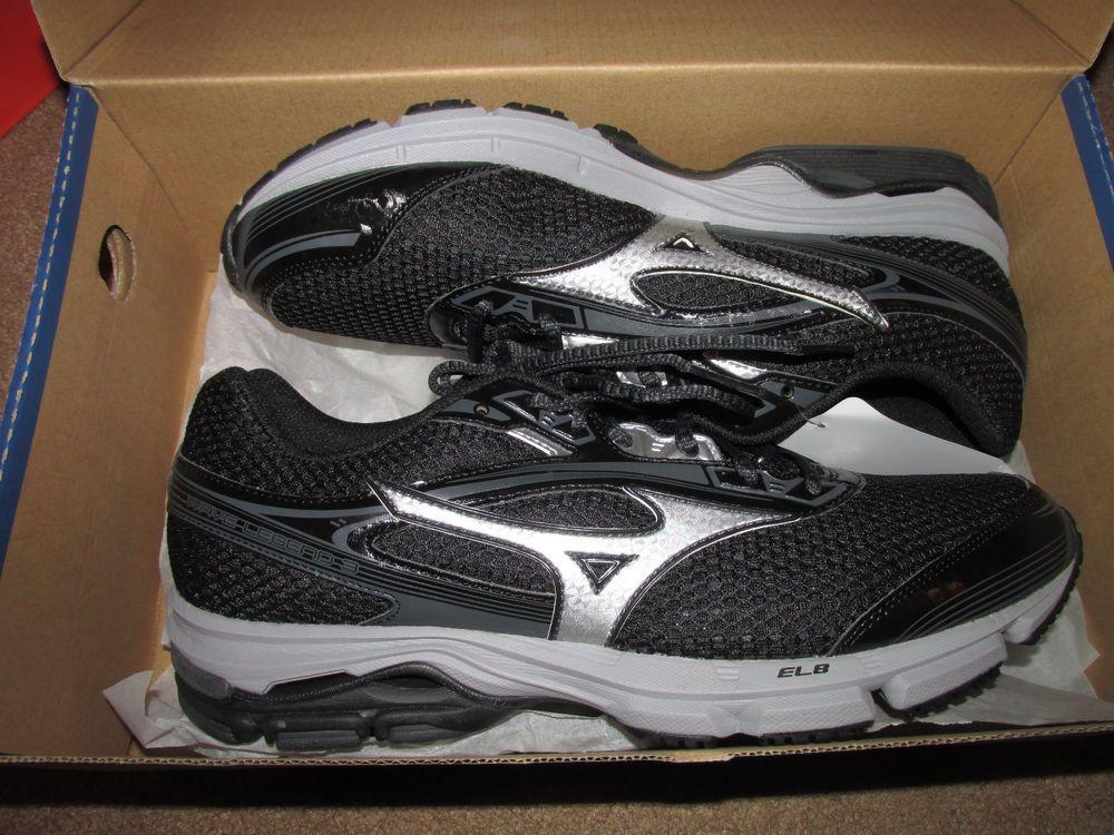 info for 68a18 02c9b Mizuno Wave Legend 3 Mens Running Shoes 11 Black Silver  Mizuno   CasualRunning