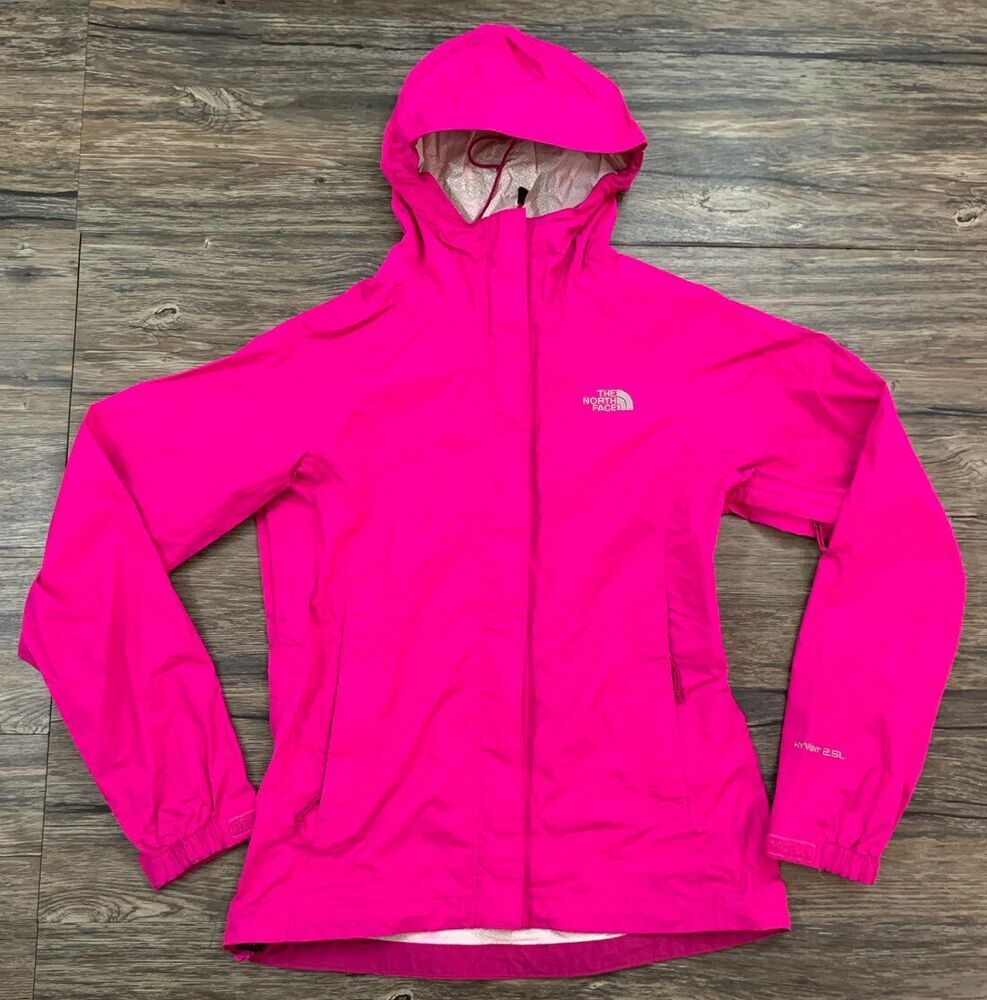 33a17f48c Details about The North Face Hyvent 2.5L Light Jacket Womens Size ...