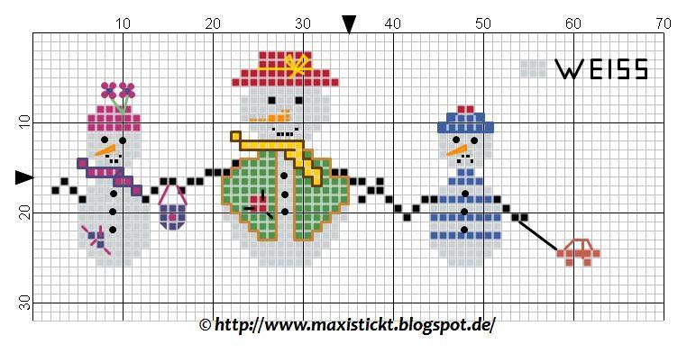 maxi stickt: Es wird kalt