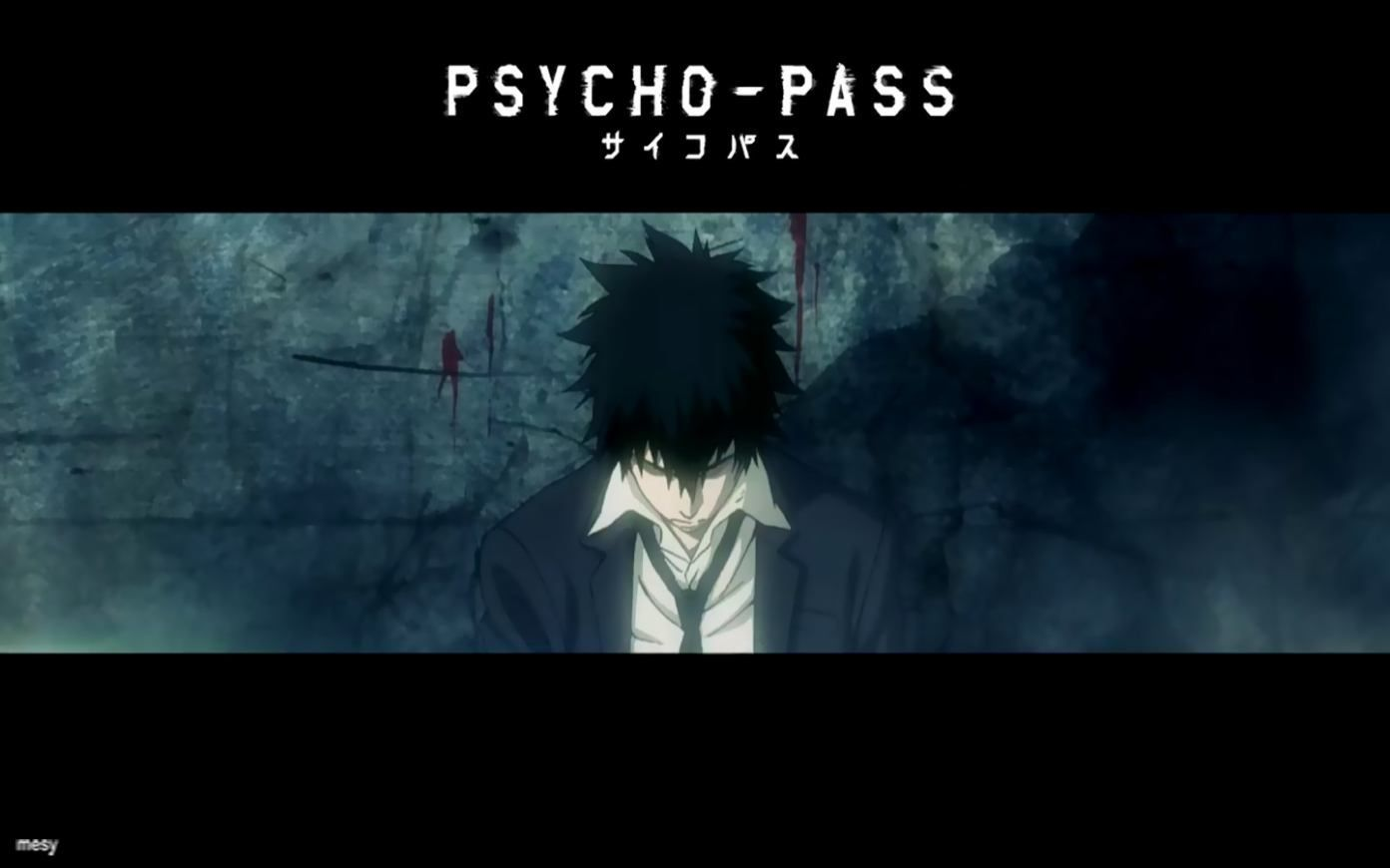 Psycho Pass Kougami Enforcer Dominator Anime Scifi You Can