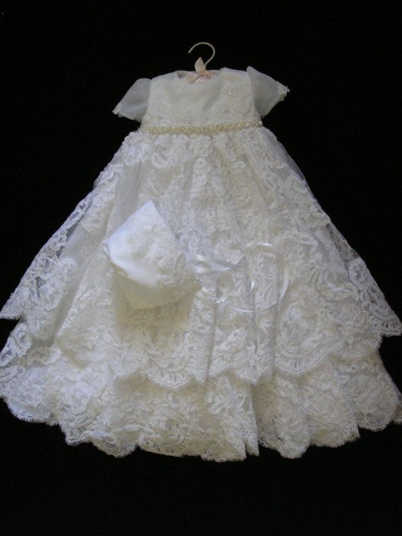 bee06d617047 Ruby's Custom Christening or Baptism Gown made to order from your Wedding  Dress