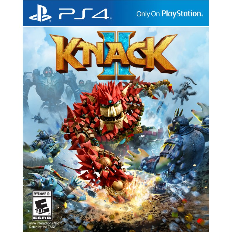 Knack II PS4 Playstation 4, Playstation, Ps4 games