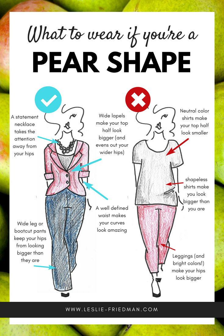 2a564f0b9ff75 What to wear if you're PEAR shaped • Leslie Friedman Consulting: Fashion,  Personal Branding, and Communication Resources