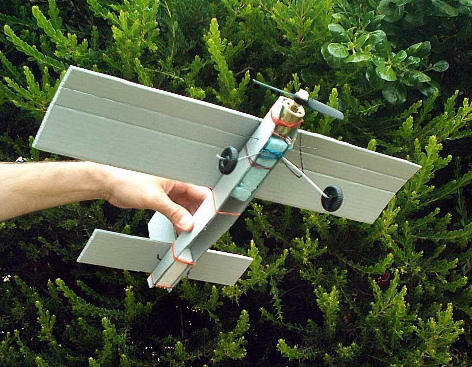Diy Cardboard Rc Plane Google Zoeken Cardboard Crafts