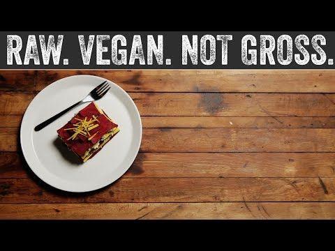 Beet Lasagna   Raw. Vegan. Not Gross. - YouTube