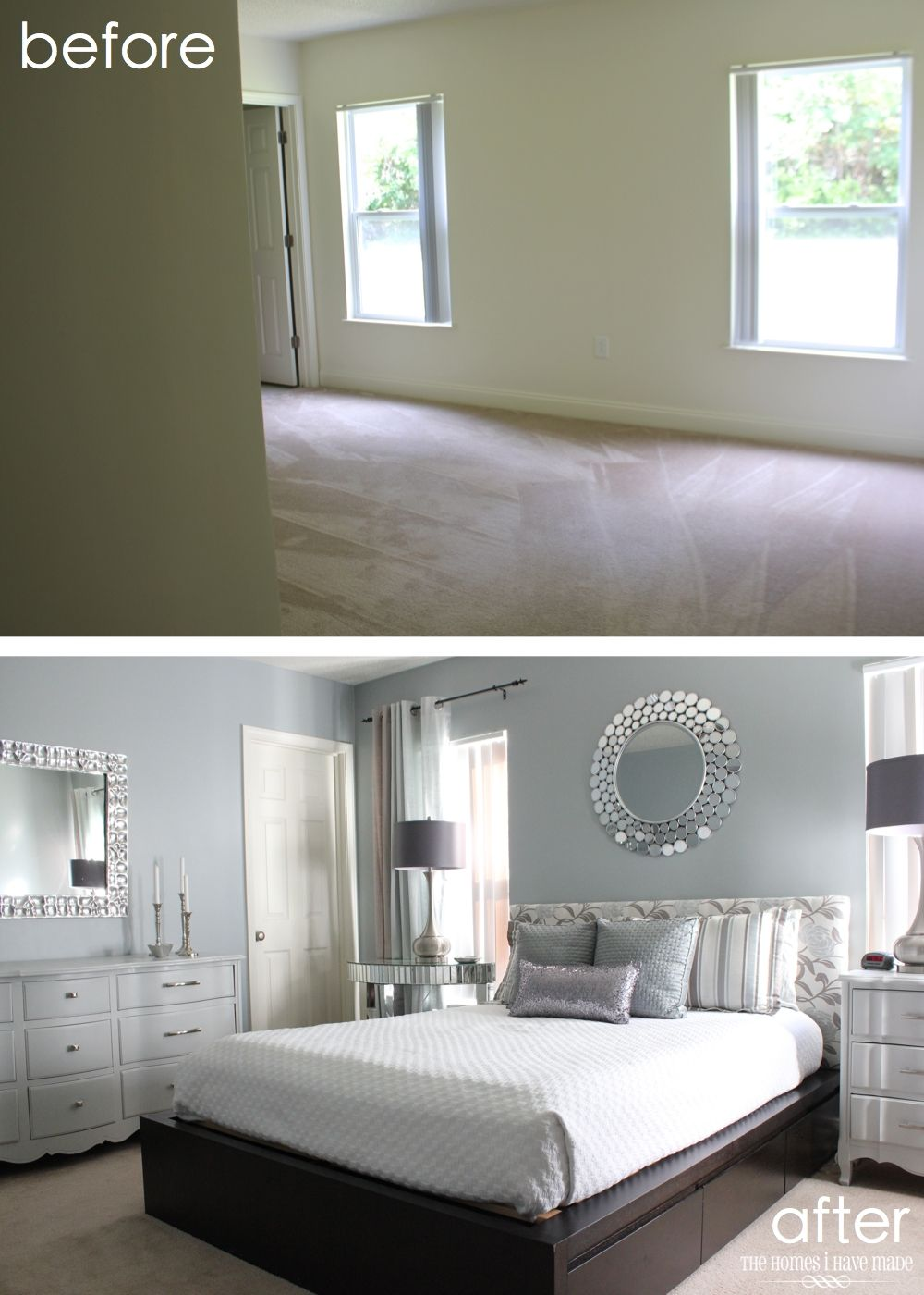 Best Modern And Glam Master Bedroom Reveal Glam Master 400 x 300