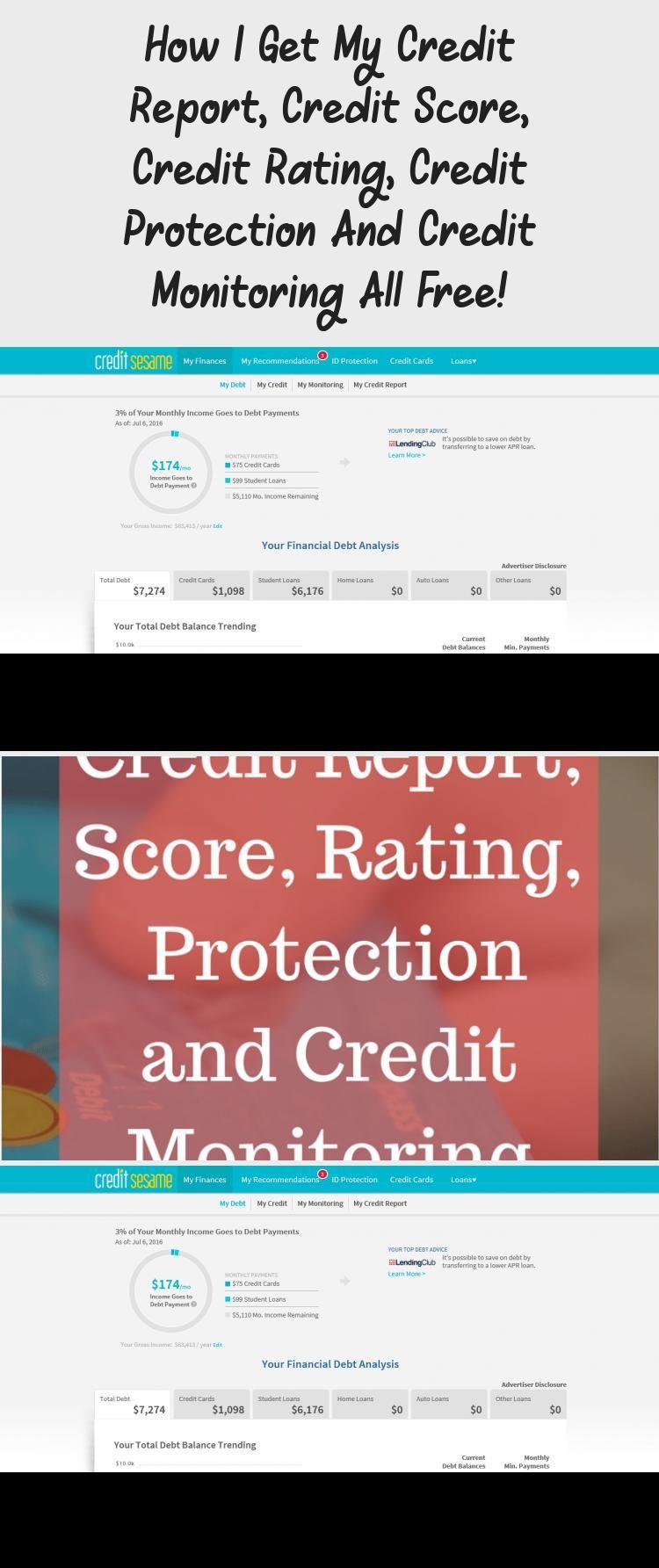 How I Get My Credit Report Credit Score Credit Rating Credit