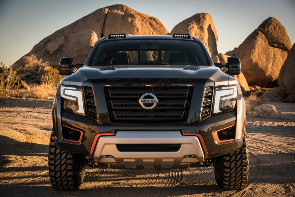 the nissan titan warrior concept turbocharged 5 0l cummins. Black Bedroom Furniture Sets. Home Design Ideas